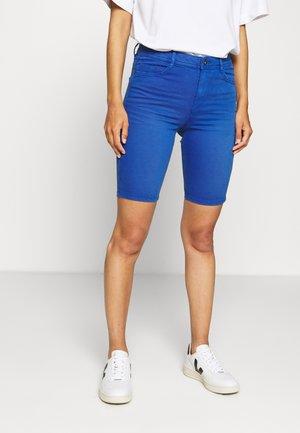 SKINNY - Denim shorts - ink