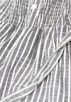 edc by Esprit - MIT STREIFEN UND GÜRTEL - Jumpsuit - off-white/grey