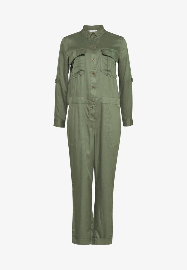 Jumpsuit - khaki green