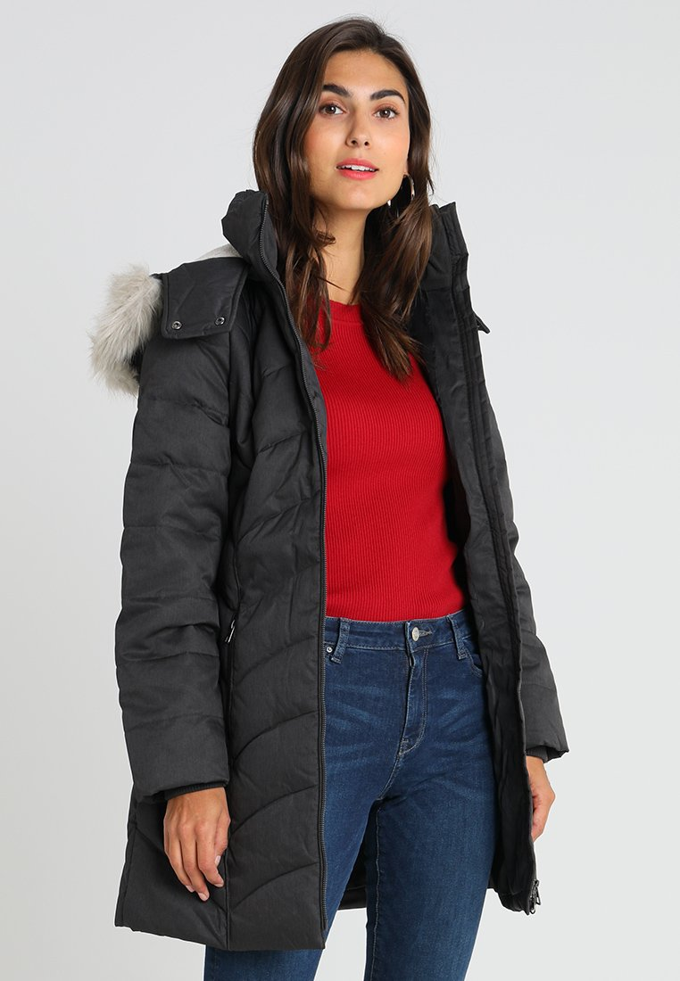 edc by Esprit - COAT - Abrigo de plumas - dark grey