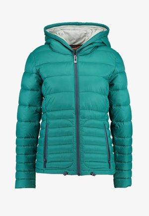 Winterjacke - emerald green
