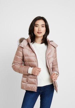 Vinterjakke - old pink