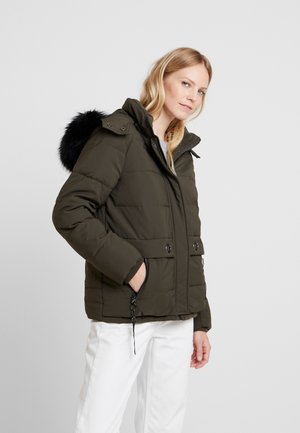 Winter jacket - dark khaki