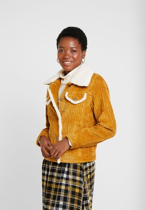 JACKET - Lett jakke - amber yellow
