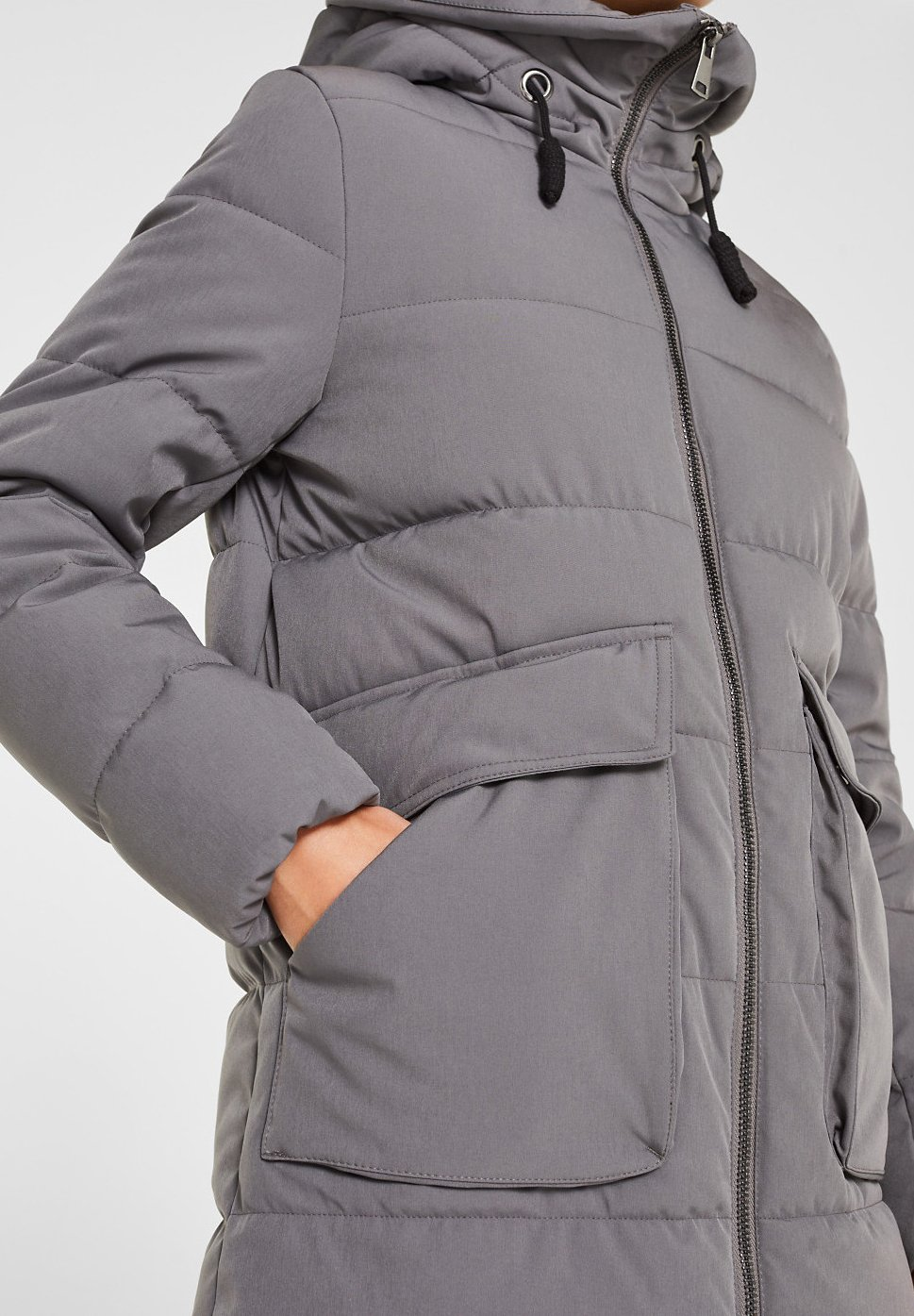 Edc By Esprit Winterjas Anthracite Z1YHJ6Dt