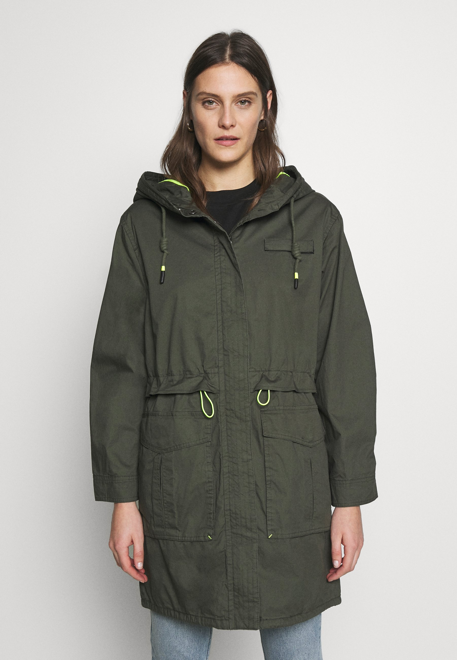 edc by Esprit SOLID - Parka - khaki green
