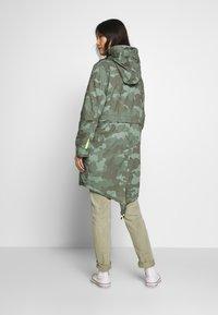 edc by Esprit - CAMOUFLAGE - Parka - khaki green - 2