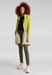 edc by Esprit - MIT MESH-FUTTER - Parka - lime yellow - 1
