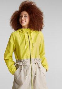 edc by Esprit - MIT MESH-FUTTER - Parka - lime yellow - 2