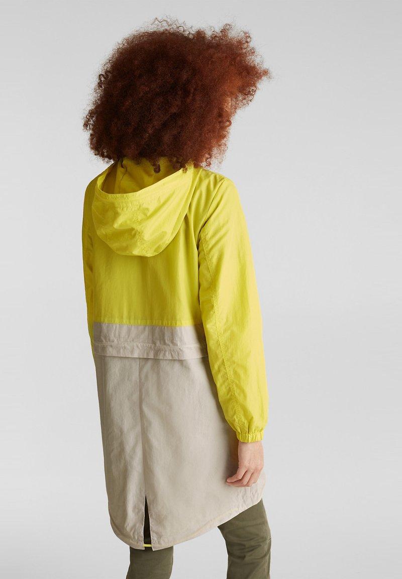 edc by Esprit - MIT MESH-FUTTER - Parka - lime yellow