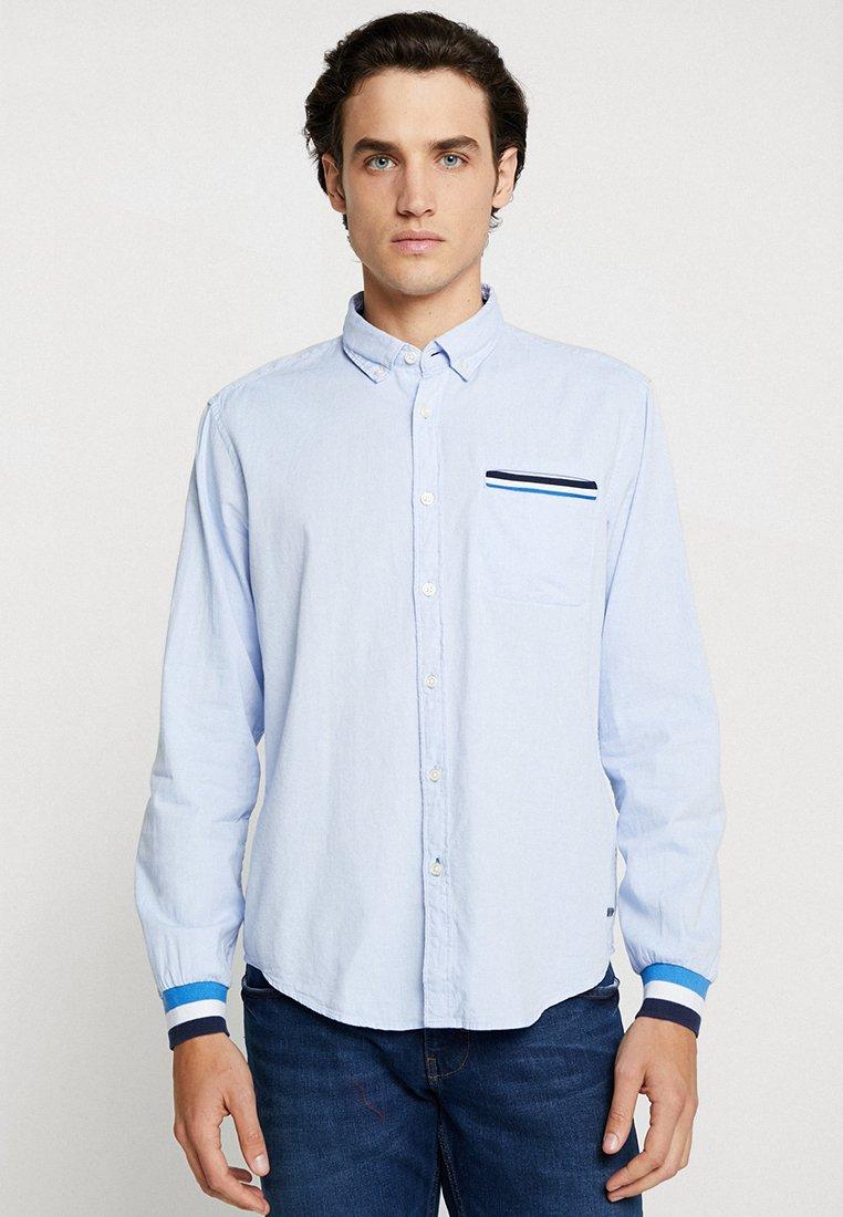 edc by Esprit - SPORTY SHIRT - Camisa - light blue