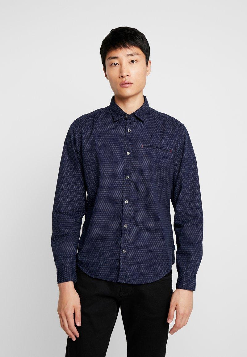 edc by Esprit - MICRO SLIM FIT - Shirt - navy