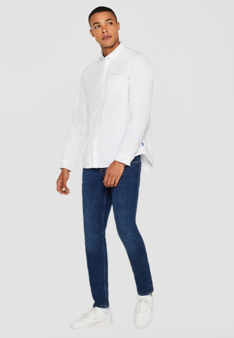 edc by Esprit - SOLID STRUCT - Hemd - white