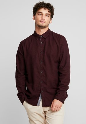 HOUNDSTOOTH - Camisa - bordeaux red