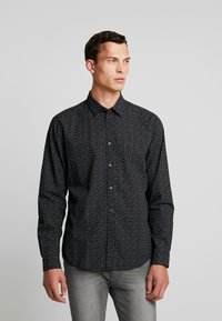 edc by Esprit - SLIM FIT - Košile - black - 0