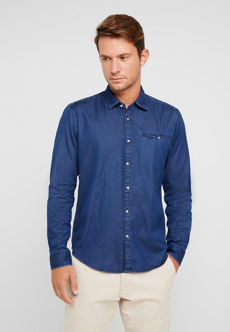 edc by Esprit - Shirt - blue medium wash