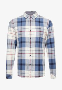 edc by Esprit - WINTER CHECK SLIM FIT - Overhemd - white