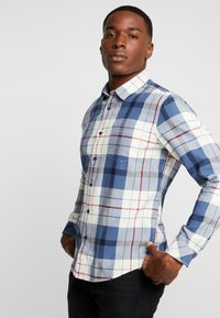 edc by Esprit - WINTER CHECK SLIM FIT - Overhemd - white - 2