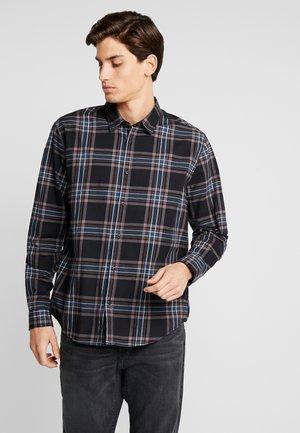 CHECK - Overhemd - black