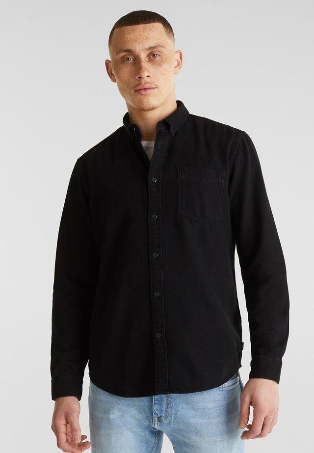 Skjorter - black denim