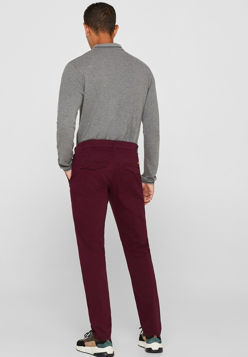 edc by Esprit - Chino - plum red