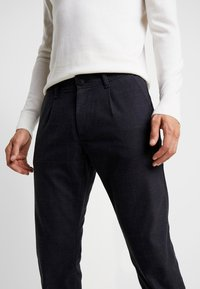 edc by Esprit - WINDOW CHECK - Trousers - navy - 4