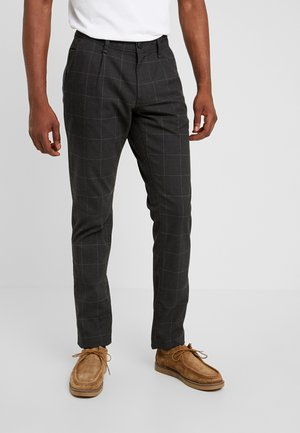 WINDOW CHECK - Spodnie materiałowe - anthracite