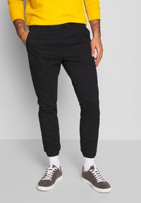 edc by Esprit - CUFF  - Chino - black - 0