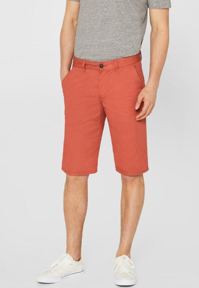 SOL  - Shorts - burnt orange