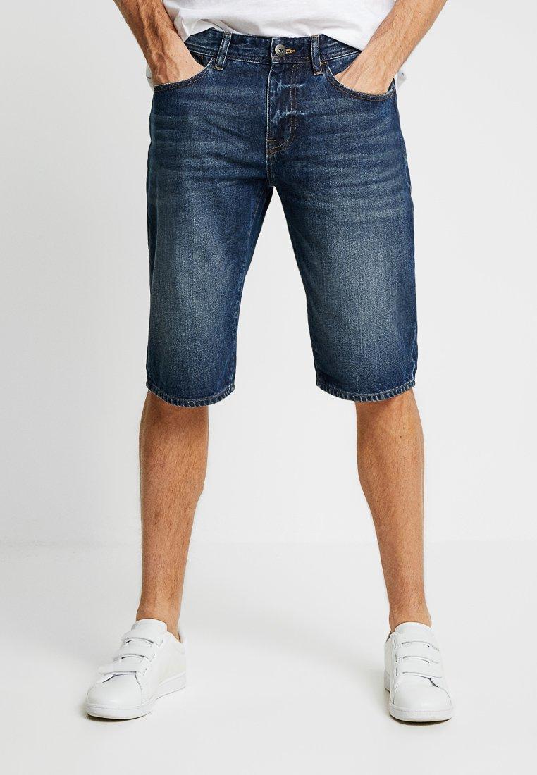 edc by Esprit - Denim shorts - blue dark wash
