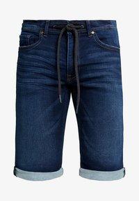 edc by Esprit - Shorts di jeans - blue dark wash - 4