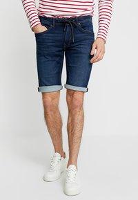 edc by Esprit - Shorts di jeans - blue dark wash - 0