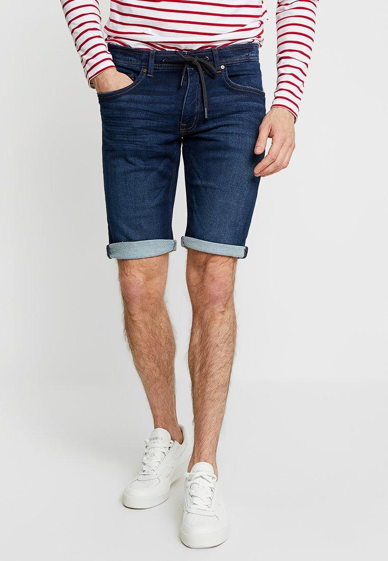 edc by Esprit - Shorts di jeans - blue dark wash