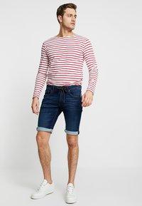edc by Esprit - Shorts di jeans - blue dark wash - 1