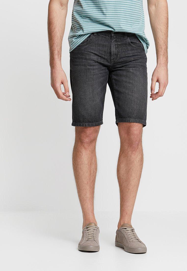 edc by Esprit - Jeans Shorts - black dark wash