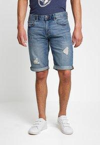 edc by Esprit - Jeans Shorts - blue medium wash - 0