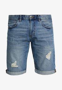 edc by Esprit - Jeans Shorts - blue medium wash - 4