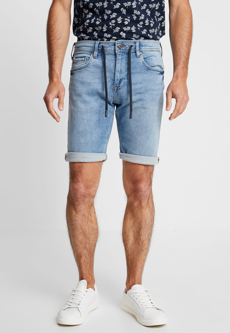 edc by Esprit - Jeans Shorts - blue medium wash