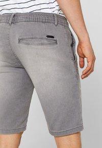 edc by Esprit - Denim shorts - dark grey - 3