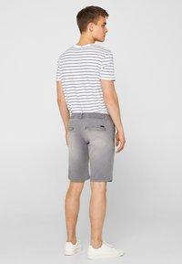 edc by Esprit - Denim shorts - dark grey - 2