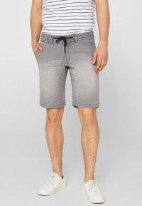 edc by Esprit - Denim shorts - dark grey - 0