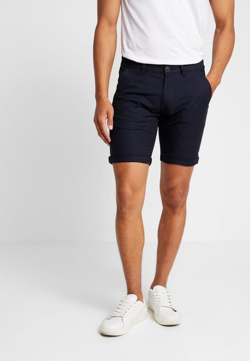 edc by Esprit - STRUC SIDE - Shorts - dark blue