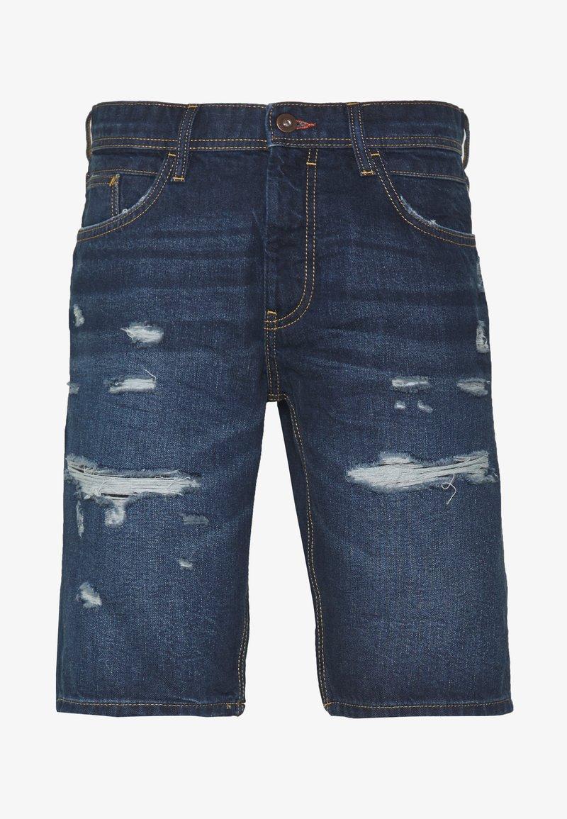 edc by Esprit - Short en jean - blue dark wash