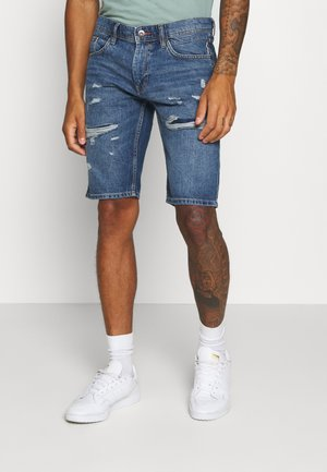 Jeansshort - blue medium wash
