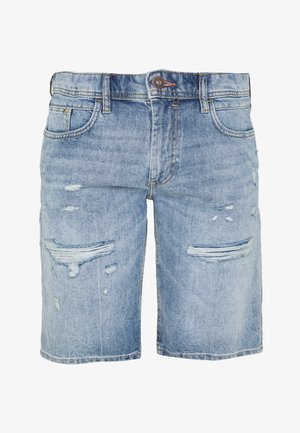 Jeansshort - blue light wash
