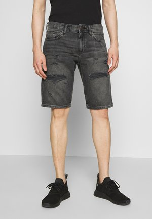 Jeansshort - black dark wash