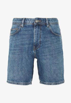 Denim-Short aus 100% Baumwolle - Denim shorts - blue
