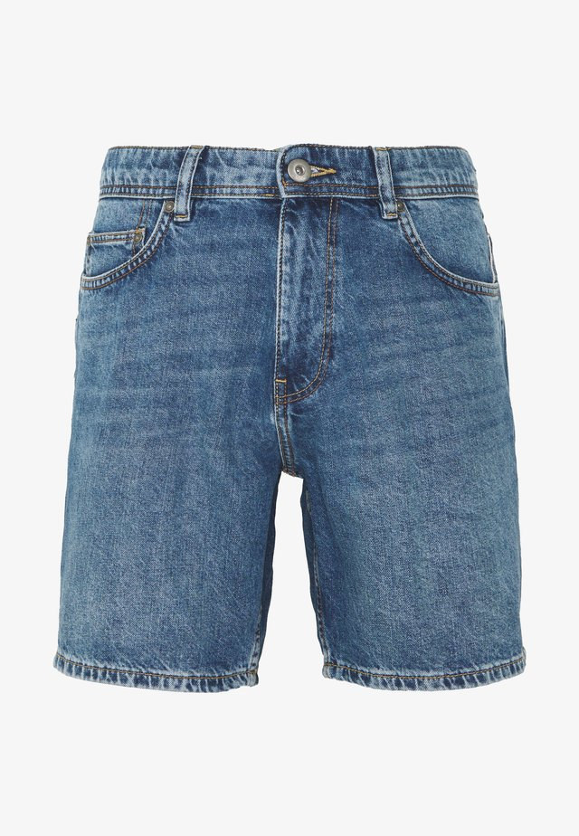 Denim-Short aus 100% Baumwolle - Shorts vaqueros - blue