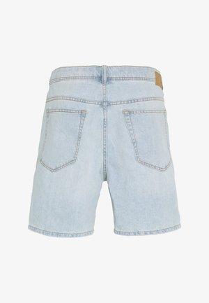 Denim-Short aus 100% Baumwolle - Denim shorts - blue bleached