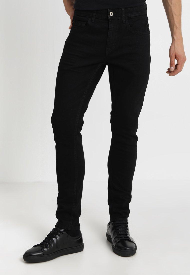 edc by Esprit - Vaqueros slim fit - black rinse